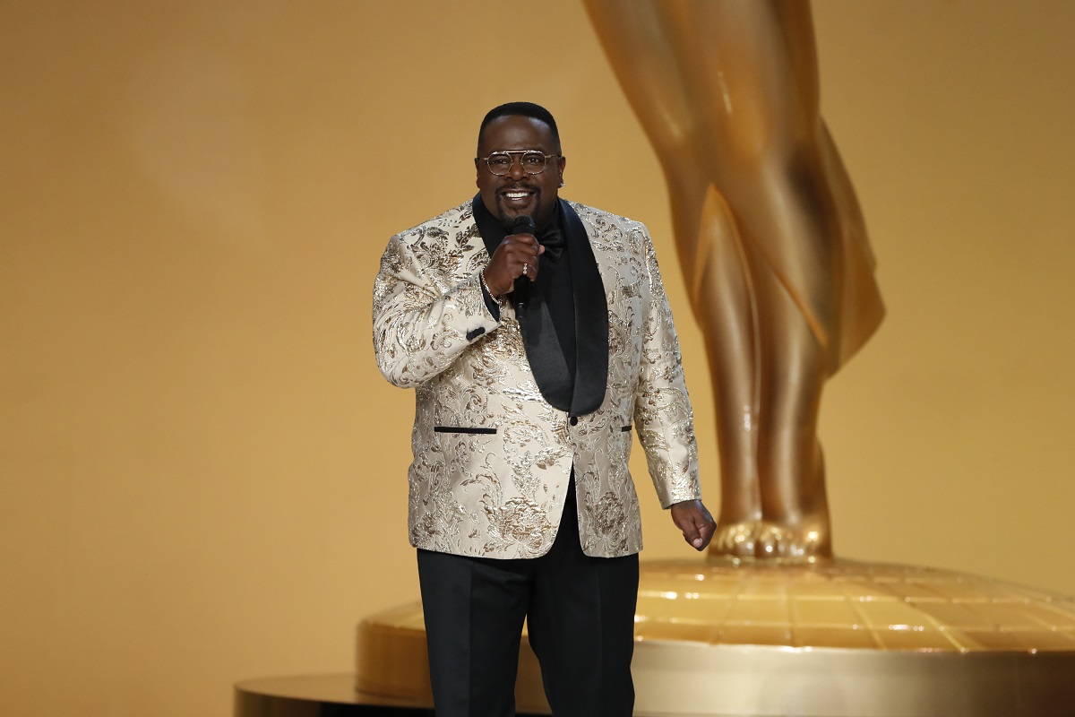 Cedric the Entertainer hosting the 73rd Emmy Awards