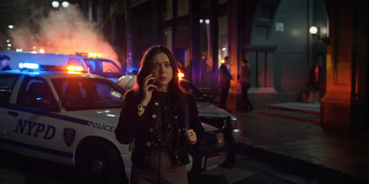Claire (Bel Powley) answers a phone call