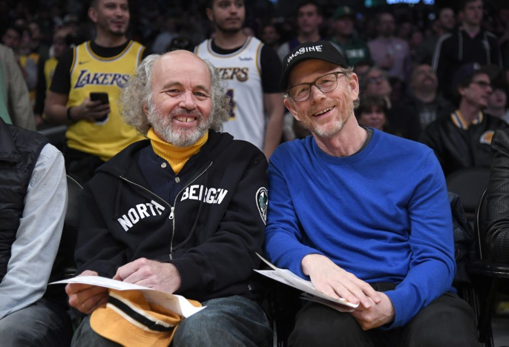 Actor brothers Clint and Ron Howard