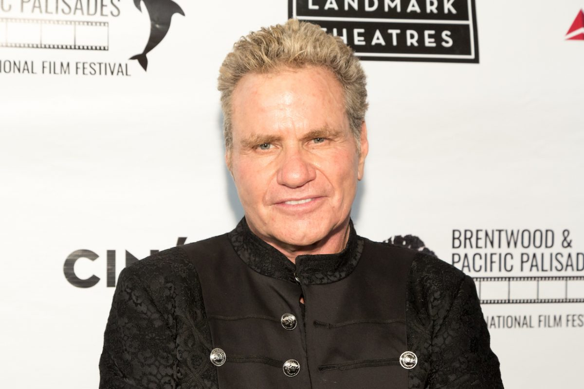 'Cobra Kai' star Martin Kove attends the Brentwood and Pacific Palisades International Film Festival at the Landmark Theater