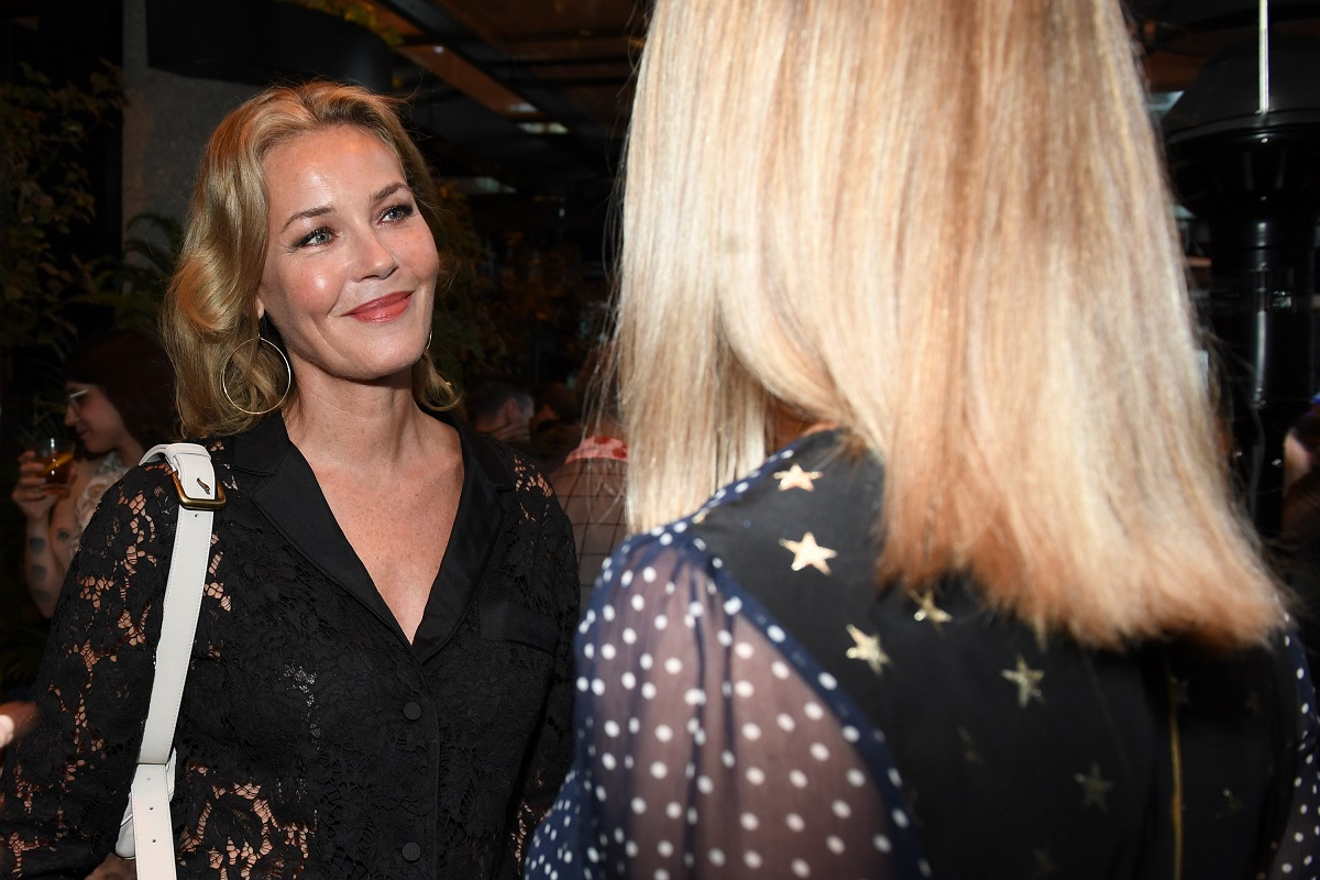 Connie Nielsen at the Toronto Film Festival, 2019