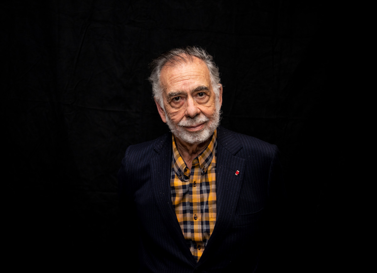 Francis Ford Coppola in a suit