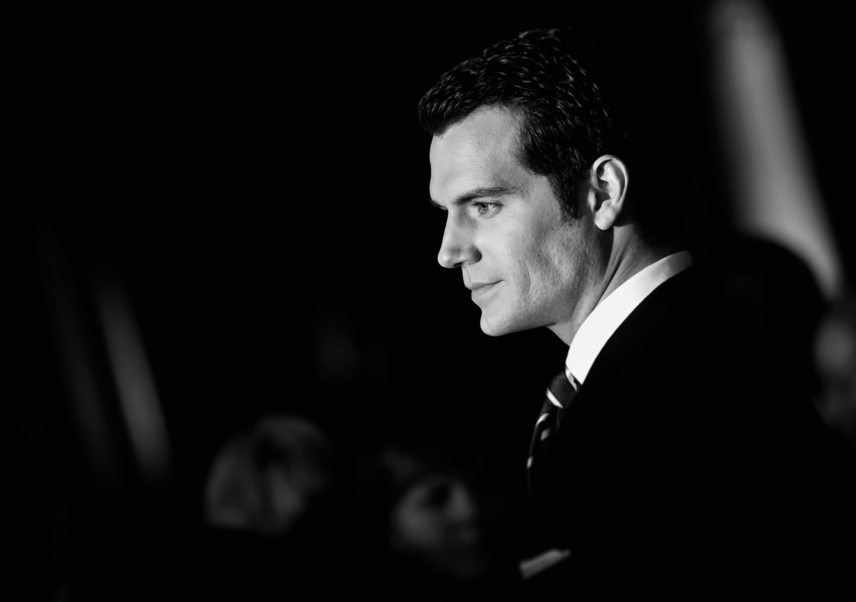Henry Cavill at the European Premiere of 'Batman V Superman: Dawn Of Justice'