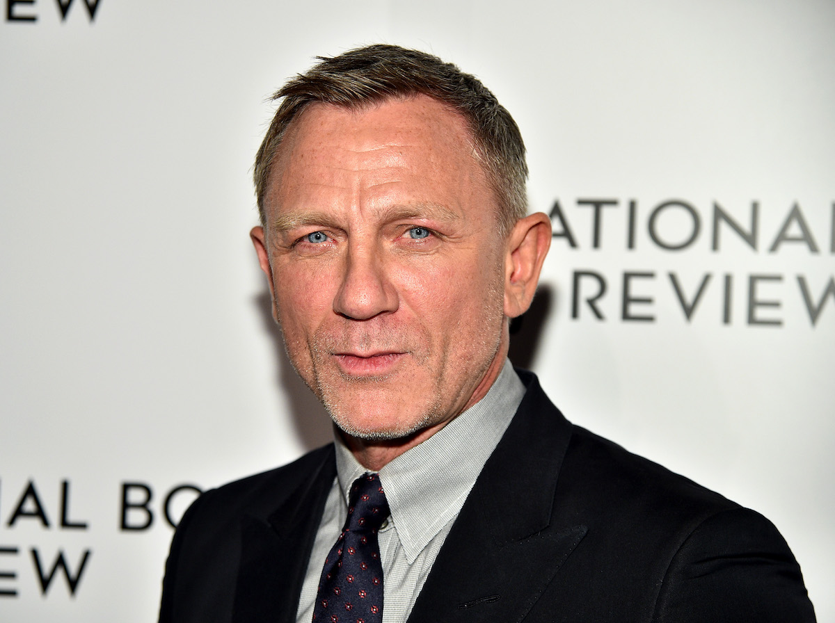 Daniel Craig of 'No Time to Die' wearing a suit