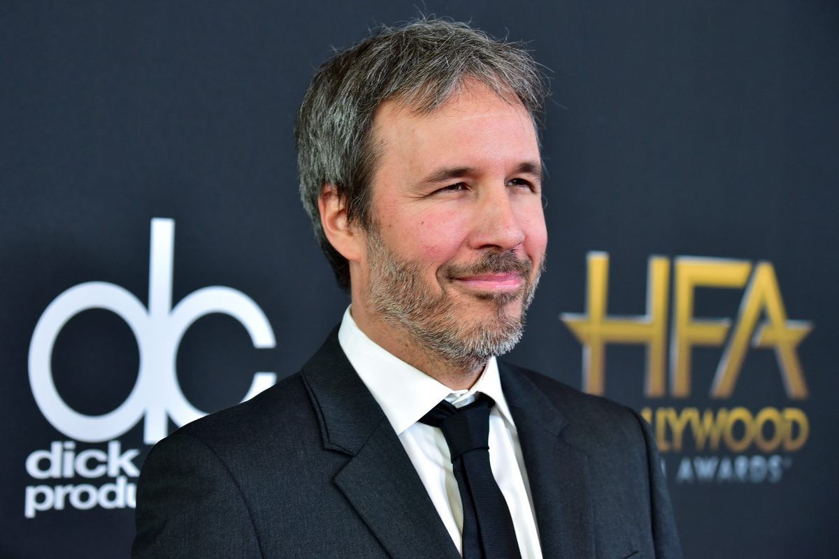 Denis Villeneuve in a black suit at the Annual Hollywood Film Awards in 2017.