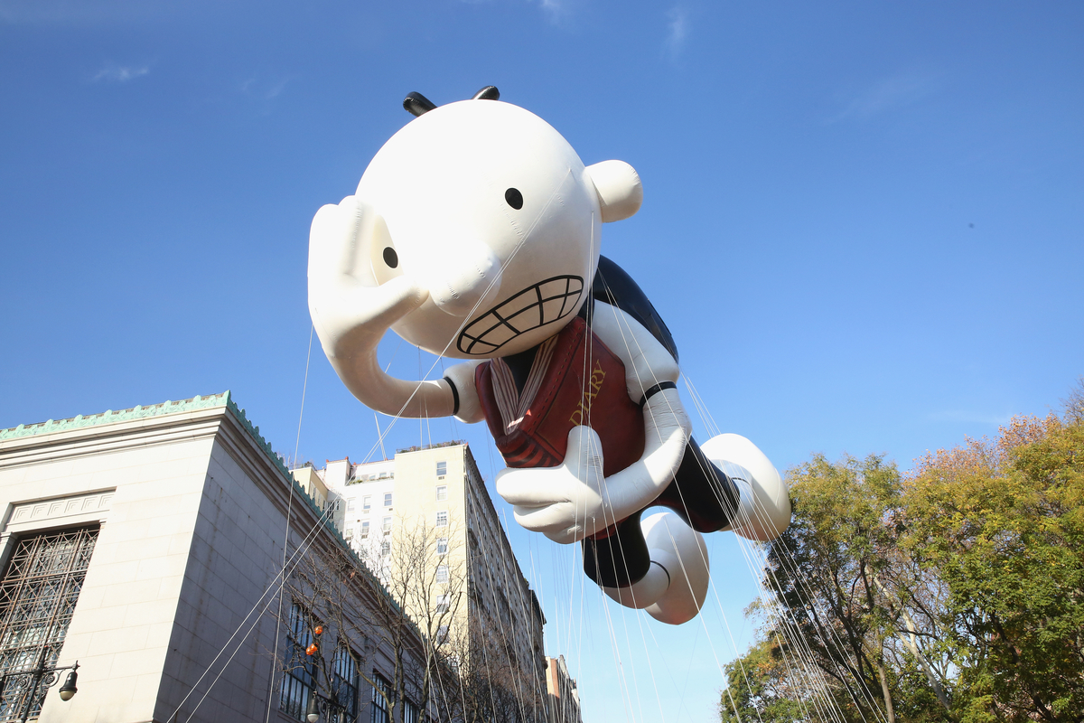 'Diary of a Wimpy Kid' Greg Heffley float at the 89th Annual Macy's Thanksgiving Day Parade