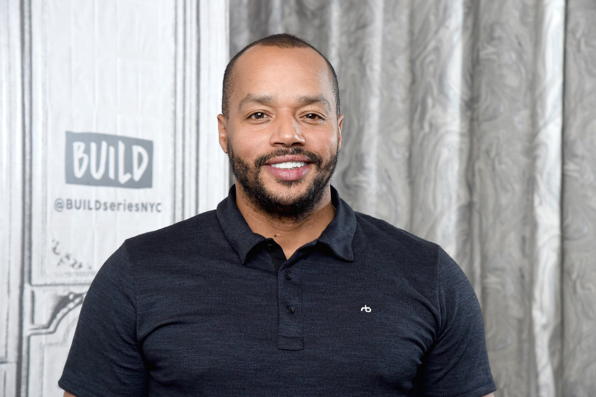 """'Scrubs' star Donald Faison visits the Build Series to discuss the ABC series """"Emergence"""" at Build Studio on September 20, 2019 in New York City"""