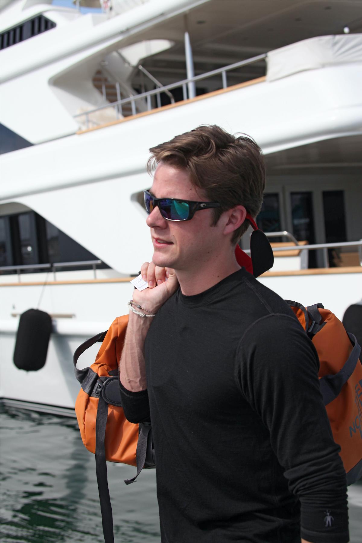 Eddie Lucas from Below Deck leaves the boat