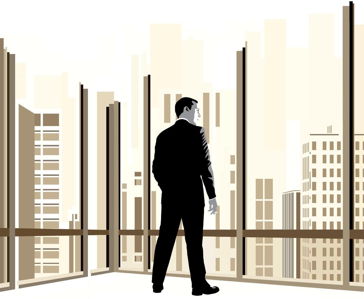 Jennifer Pritchard's illustration of Don Draper from 'Mad Men.'