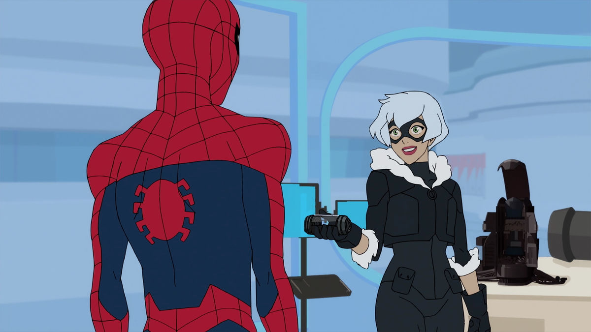 Spider-Man and Black Cat from 'Marvel's Spider-Man'