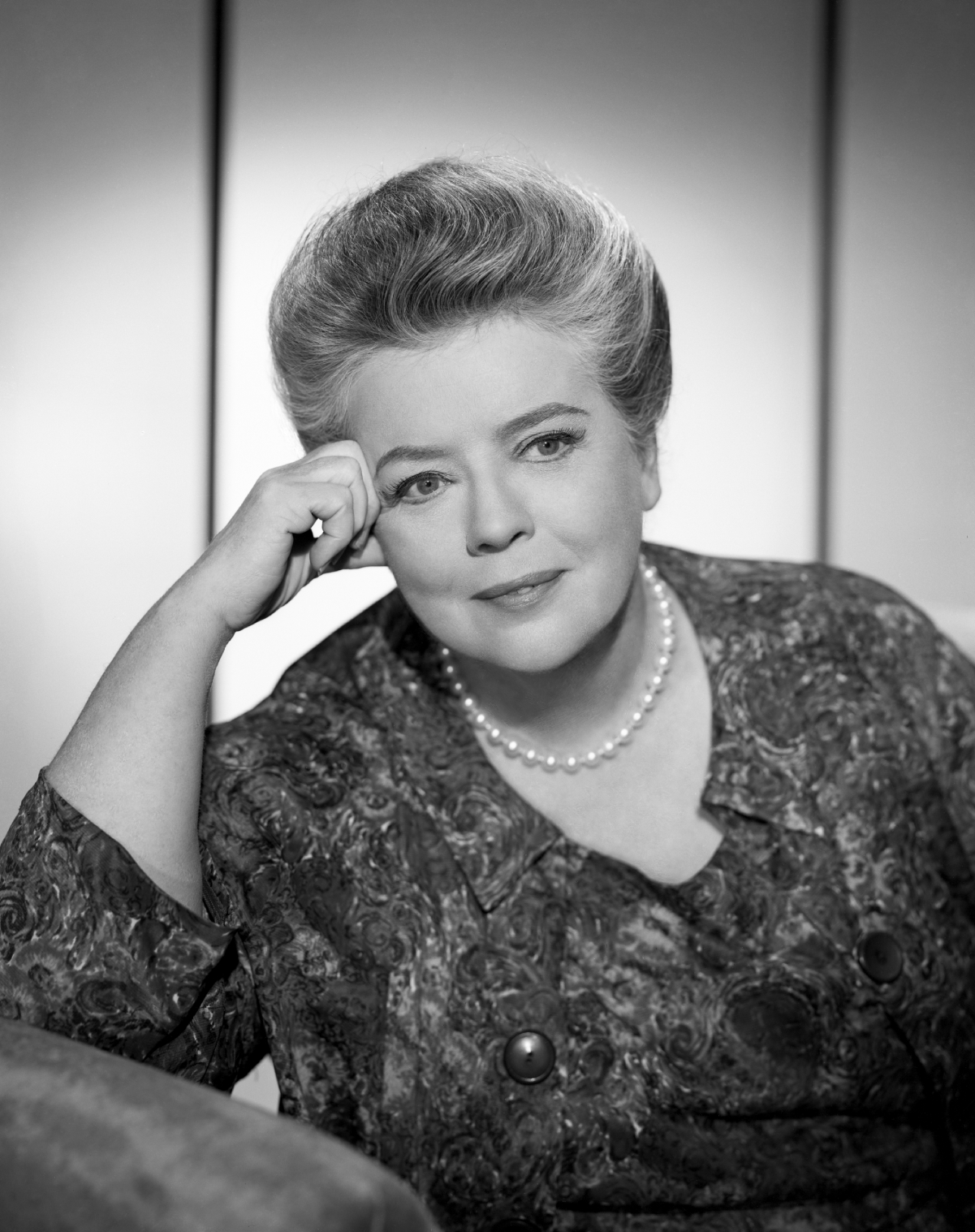 Actor Frances Bavier of 'The Andy Griffith Show'