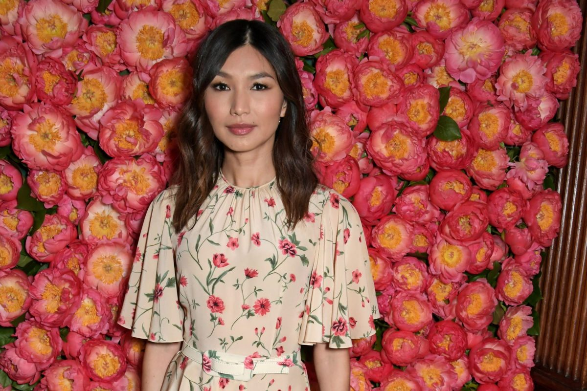 Gemma Chan, star of 'Eternals,' attends a private dinner hosted by Michael Kors.