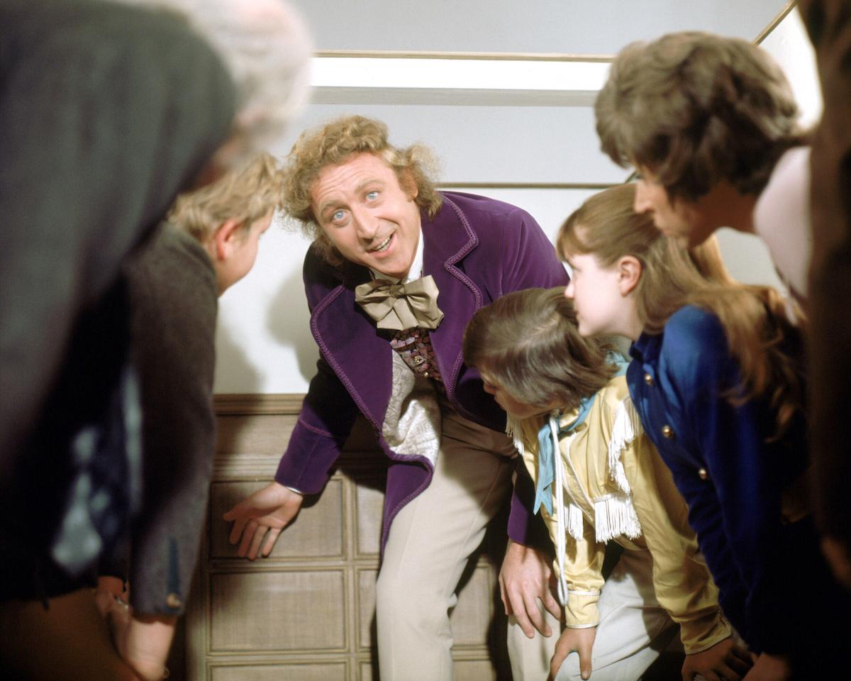 Gene Wilder as Willy Wonka.