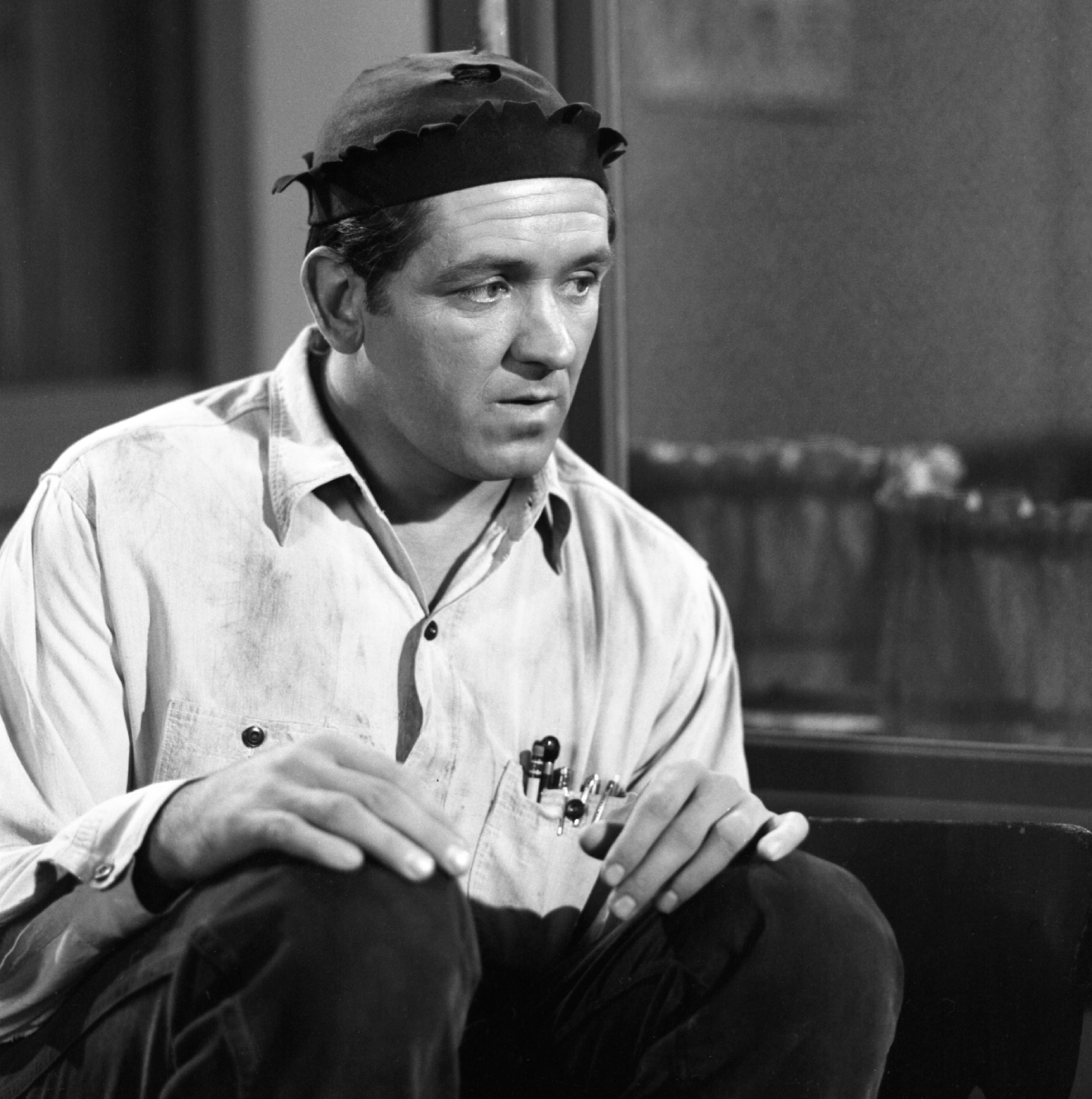 Actor George Lindsey as Goober Pyle in 'The Andy Griffith Show'
