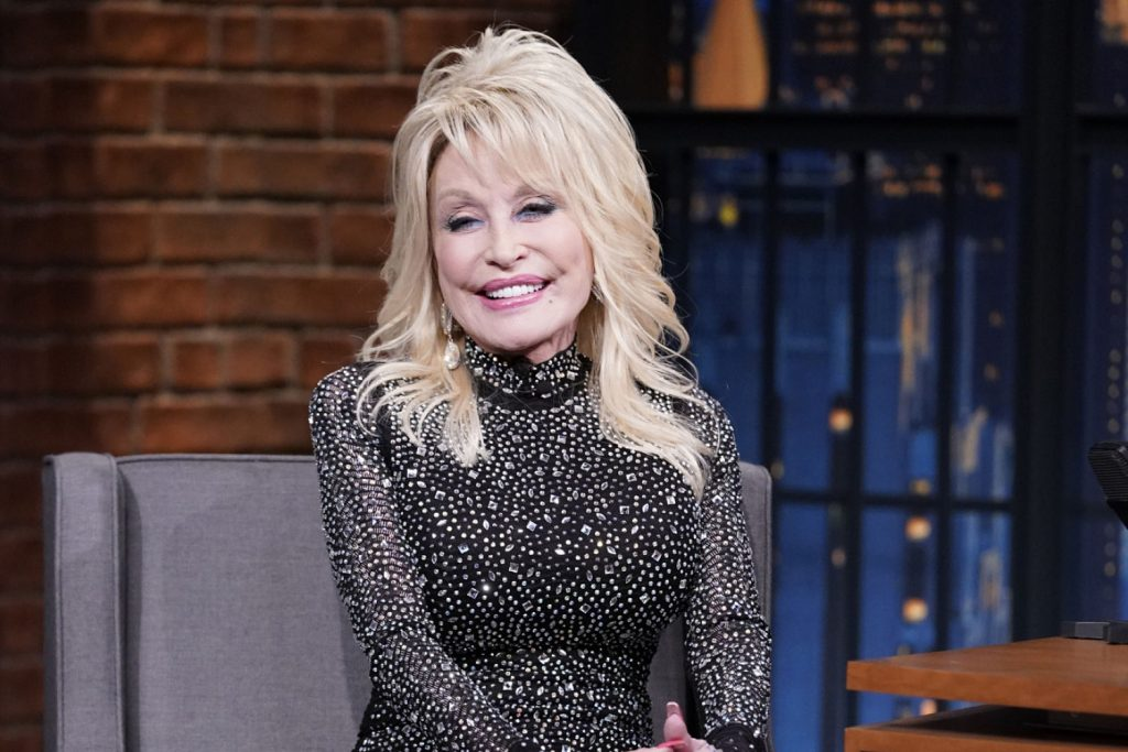 Dolly Parton was honored by a pop music icon for these two reasons.
