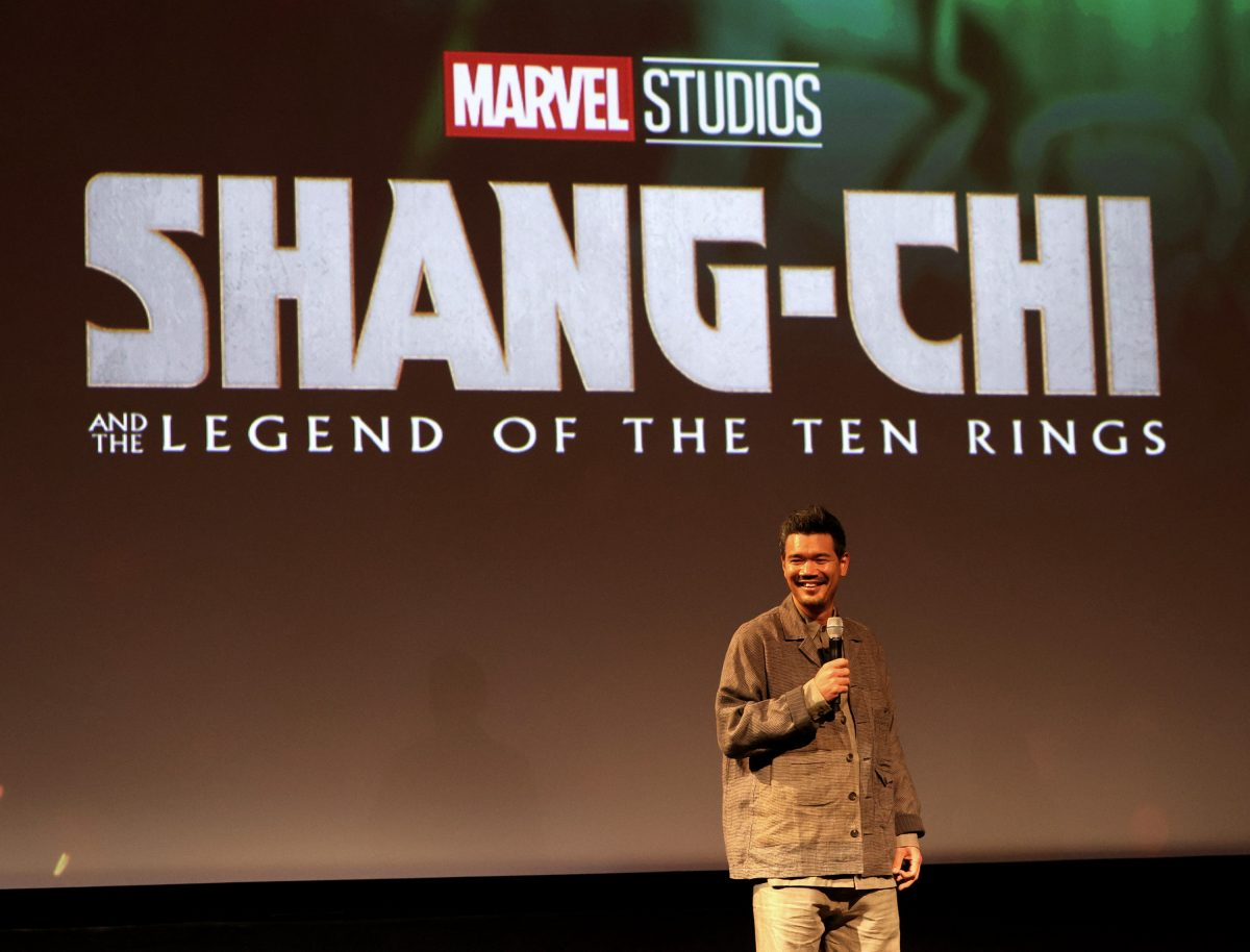 Destin Daniel Cretton promoting his new hit movie, 'Shang-Chi and the Legend of the Ten Rings'