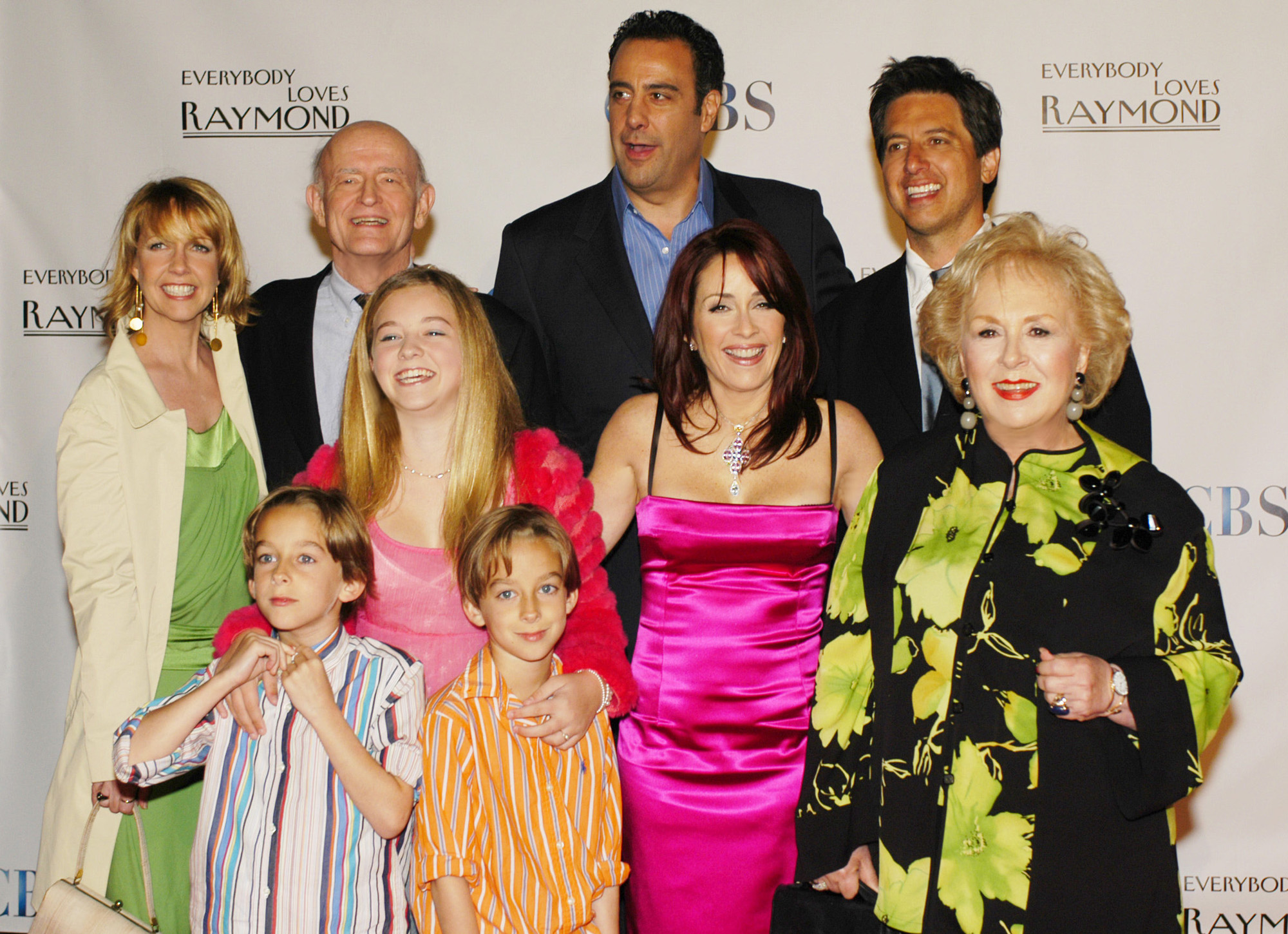 The cast of 'Everybody Loves Raymond' at its series wrap party in 2005.