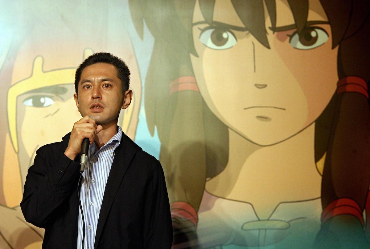 Goro Miyazaki anime background