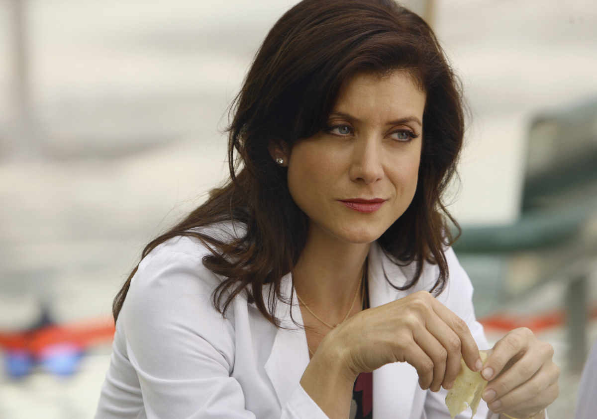 'Grey's Anatomy' star Kate Walsh's Addison Montgomery returns to the hospital in a screen shot from an episode from April 2008