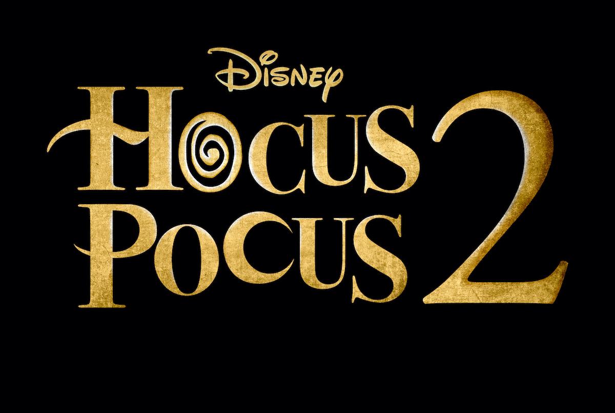 'Hocus Pocus 2' logo from Disney+ studios