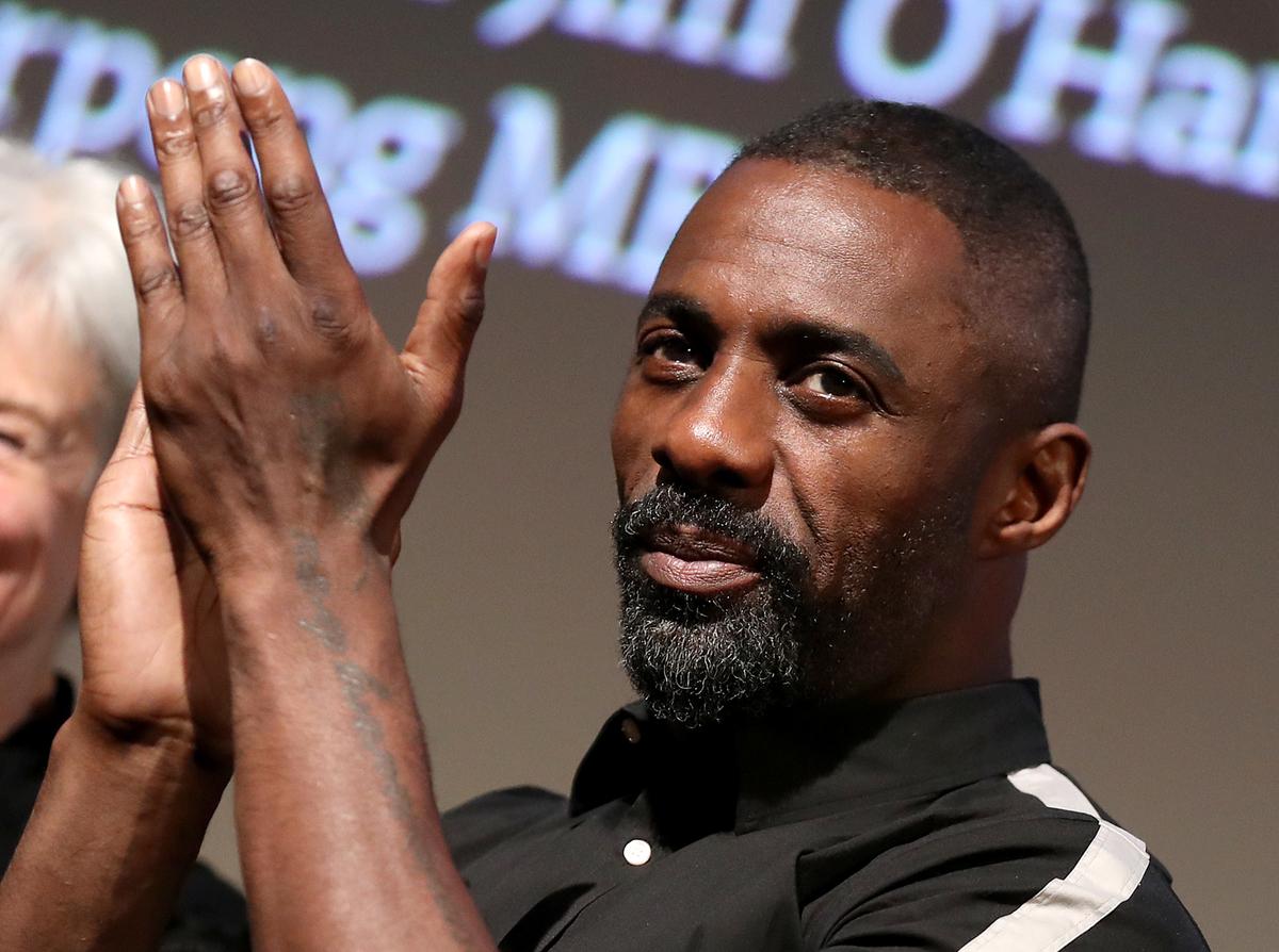 Idris Elba at '100 Streets' premiere