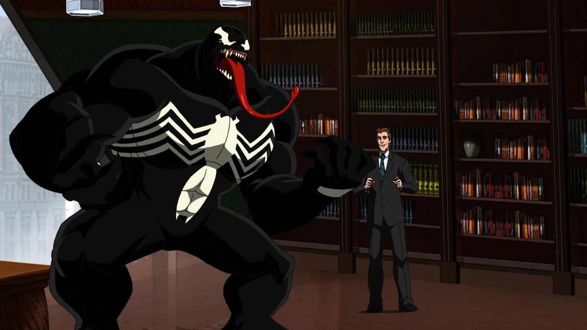 "Venom from Marvel's ""Ultimate Spider-Man"""