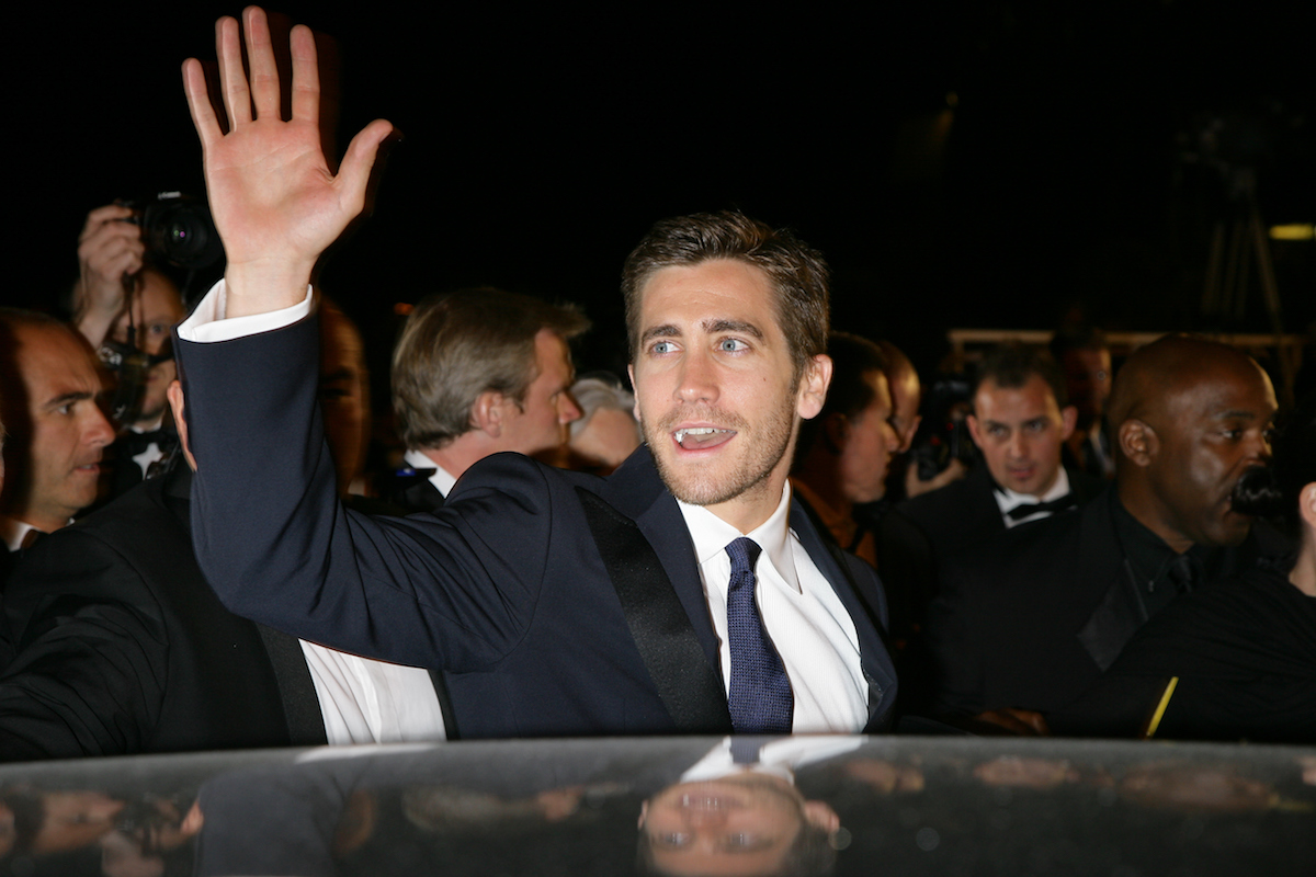 Jake Gyllenhaal at the premiere of 'Zodiac'