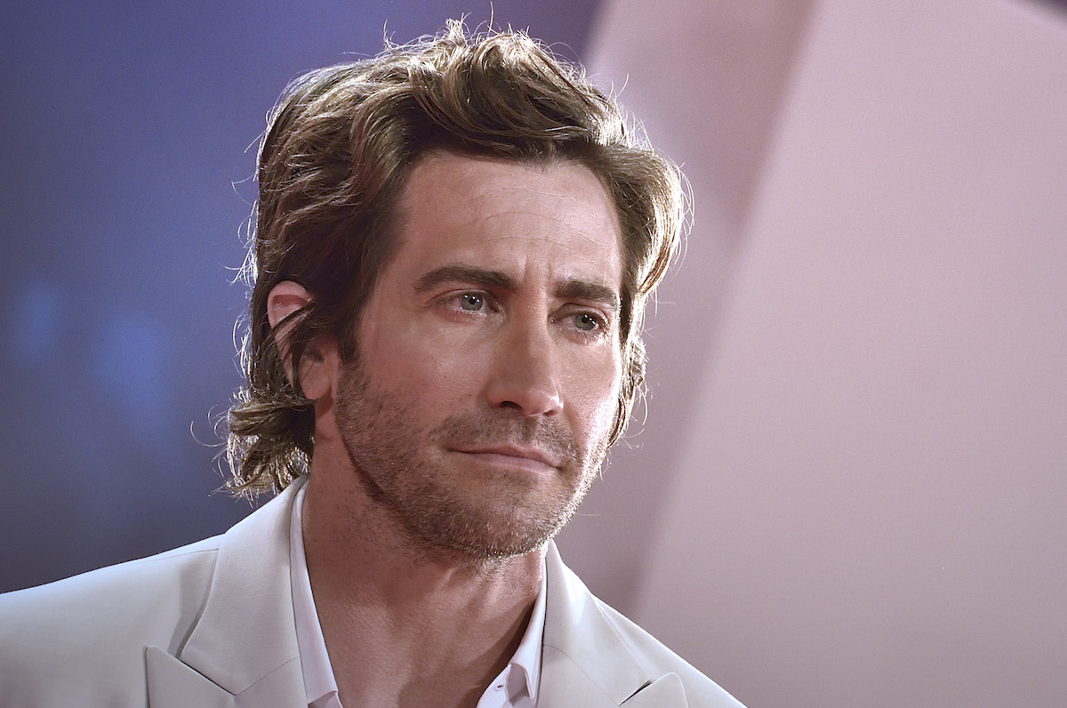 Jake Gyllenhaal in a close up.