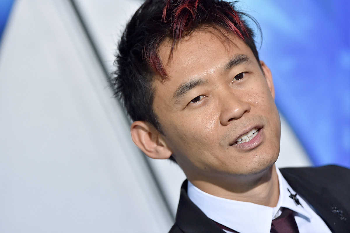 James Wan 'Malignant' director in suit