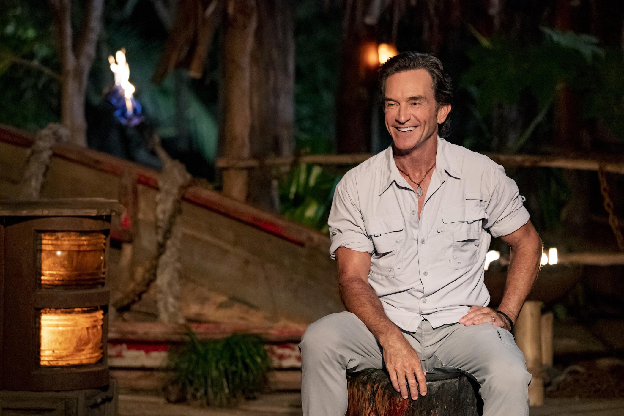 Jeff Probst of 'Survivor'