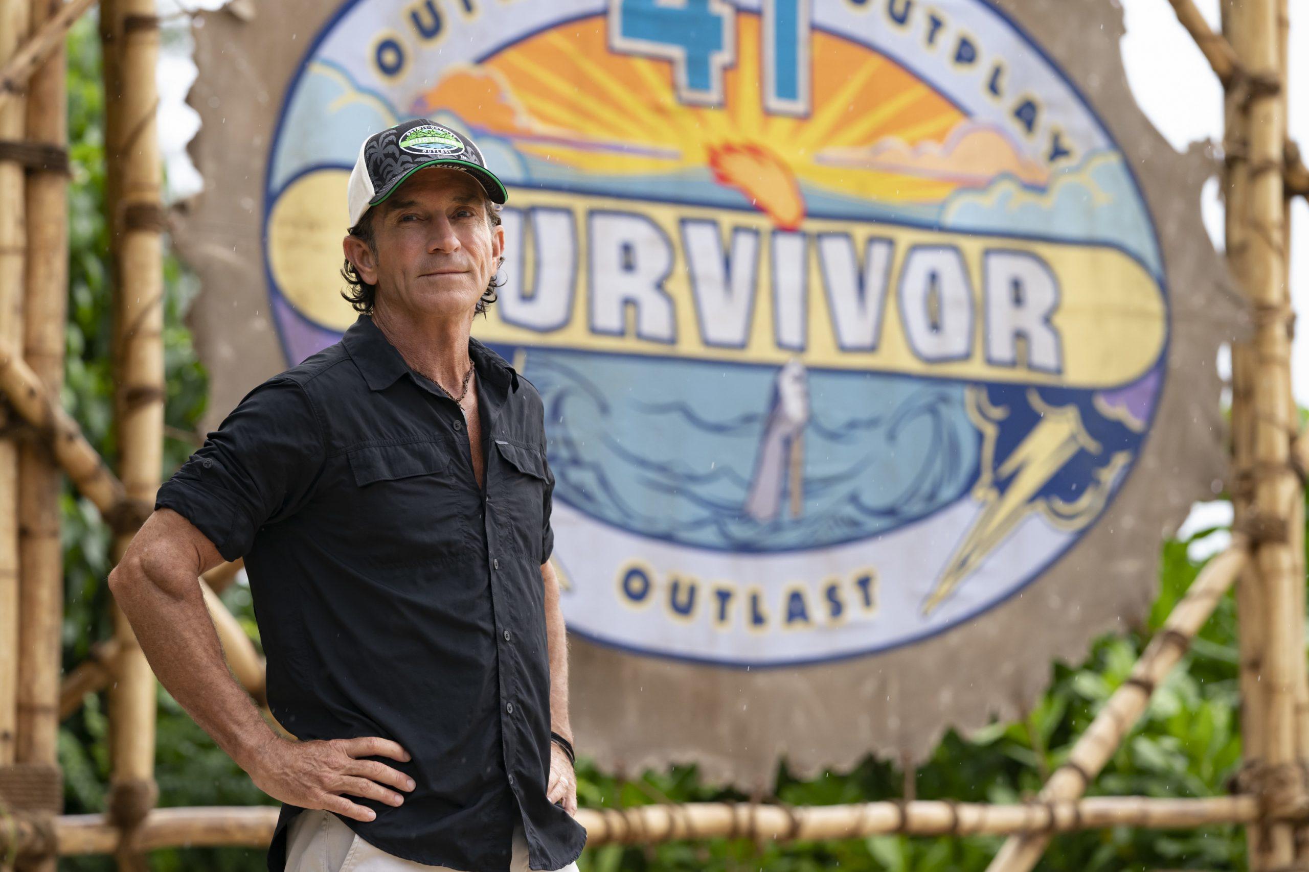Jeff Probst on 'Survivor'