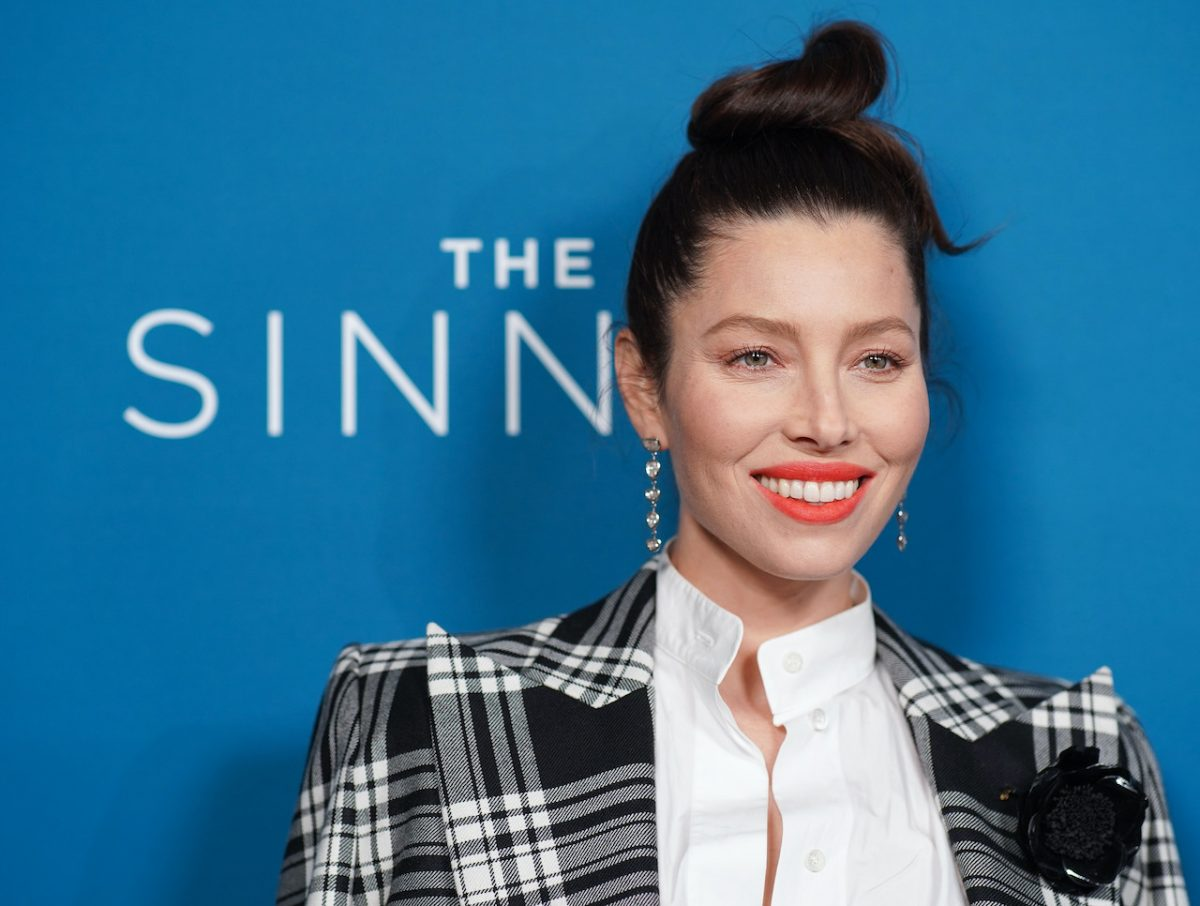 Jessica Biel attends the 'The Sinner' Season 3 premiere at The London West Hollywood