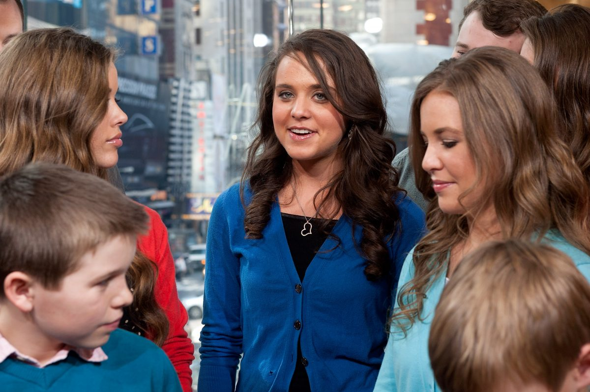 Jessa Seewald, Jinger Vuolo and Jana Duggar appear together on 'Extra' in New YorK City