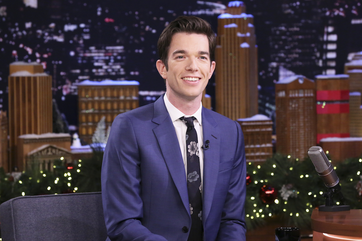 Comedian John Mulaney during an interview on December 10, 2018 on 'The Tonight Show.'
