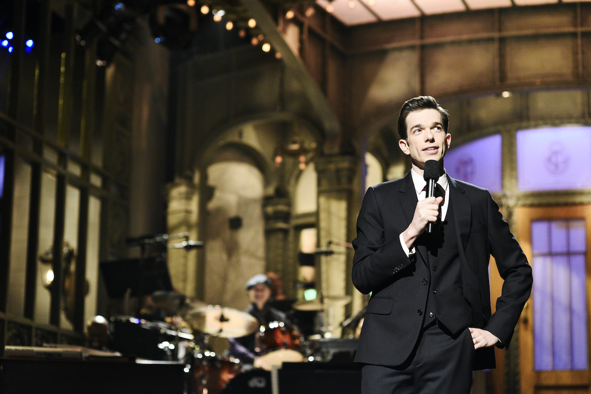 John Mulaney on Saturday Night Live in 2018