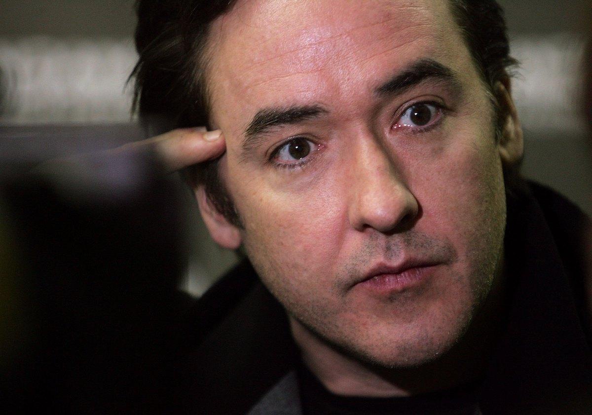 John Cusack close-up