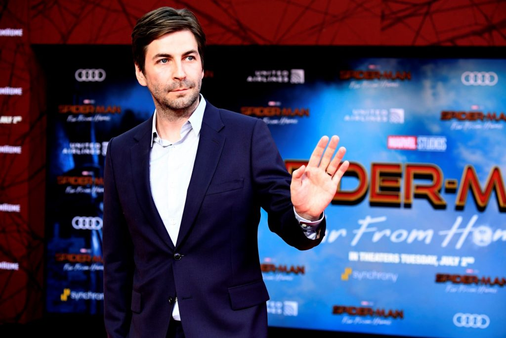 Director Jon Watts attending 'Spider-Man: Far From Home' at TCL Chinese Theatre in Hollywood, California