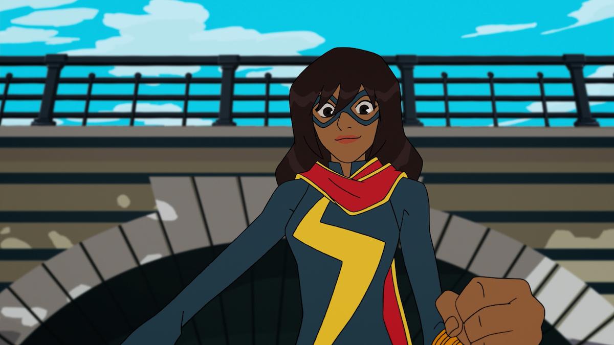 Ms. Marvel/Kamala Khan in 'Marvel Rising: Secret Warriors'