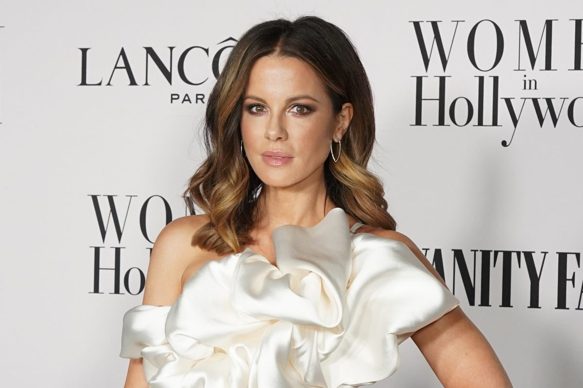 Kate Beckinsale attending the Vanity Fair and Lancôme Women in Hollywood celebration in 2020