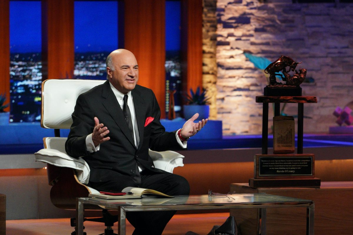 Kevin O'Leary on the panel of 'Shark Tank'