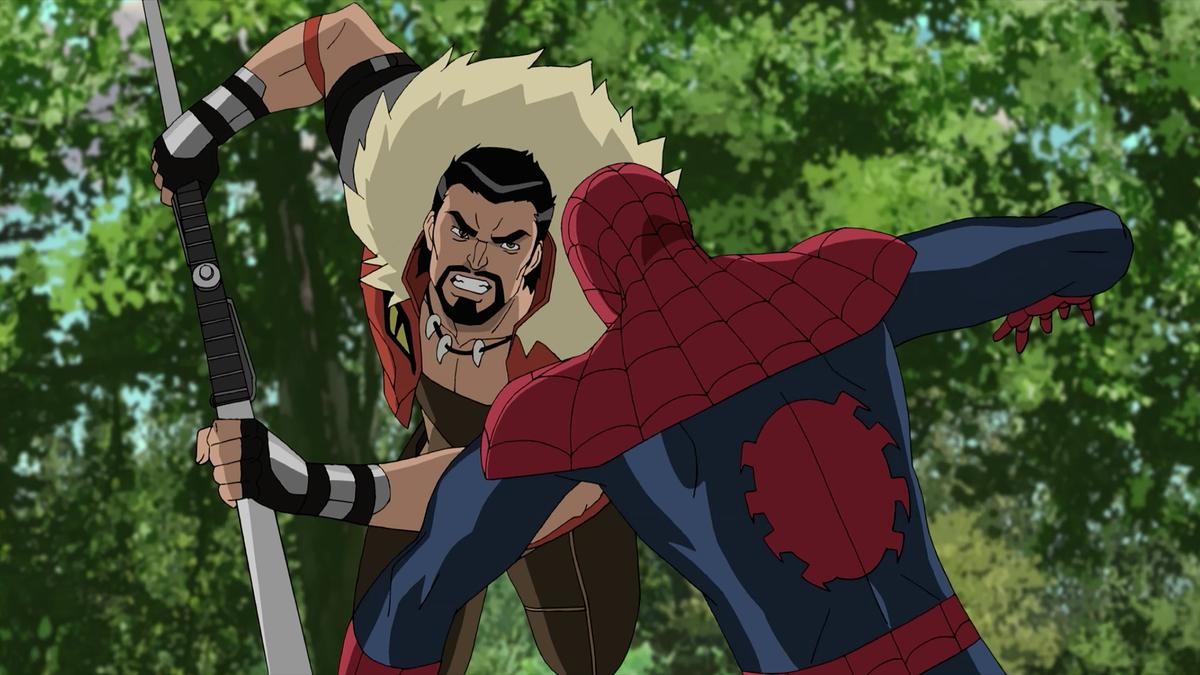 Kraven in Marvel's 'Ultimate Spider-Man'