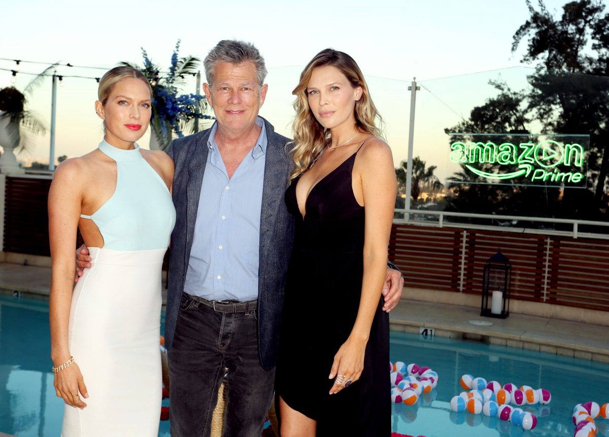 (L-R): Erin Foster, David Foster, and Sara Foster attend Amazon Prime Summer Soiree