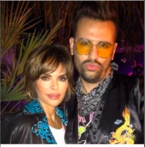 Lisa Rinna and Amir Yass