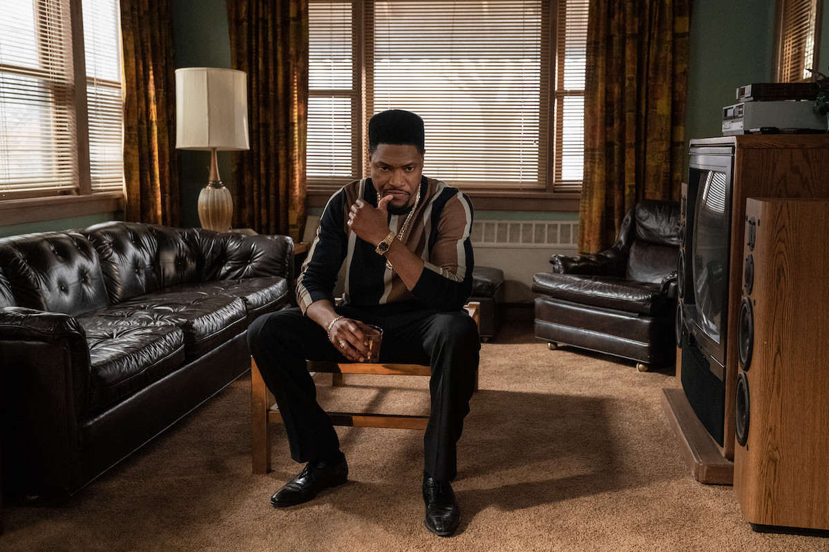 London Brown as Marvin sitting and contemplating in a chair in 'Power Book III: Raising Kanan'