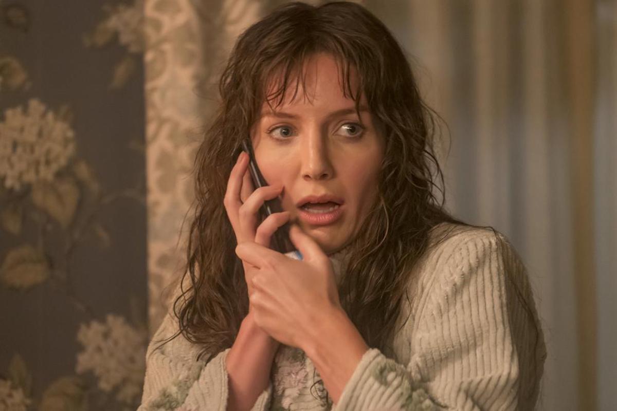 Annabella Wallis in 'Malignant' scene