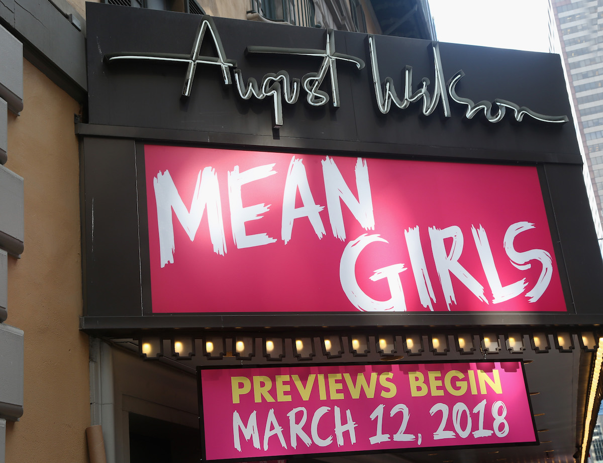 'Mean Girls' on the stage