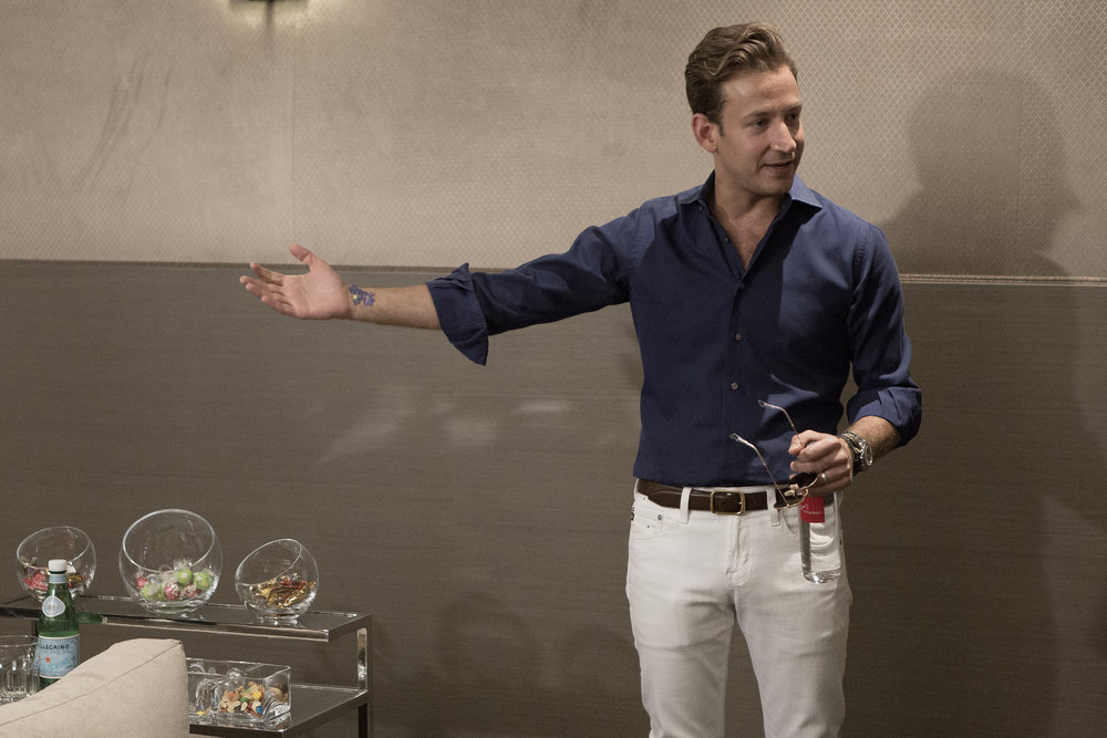 James Harris from Million Dollar Listing Los Angeles shows a home