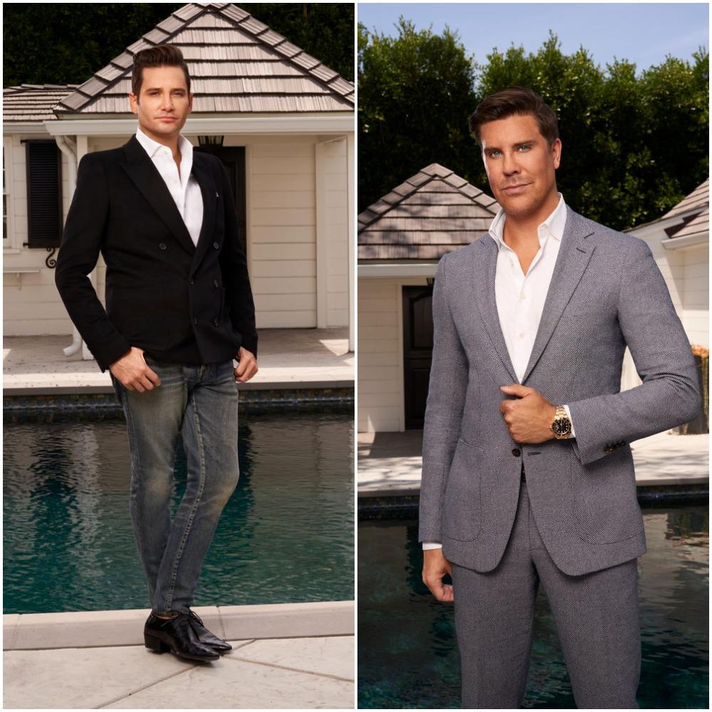 Josh Flagg and Fredrik Eklund from Million Dollar Listing Los Angeles