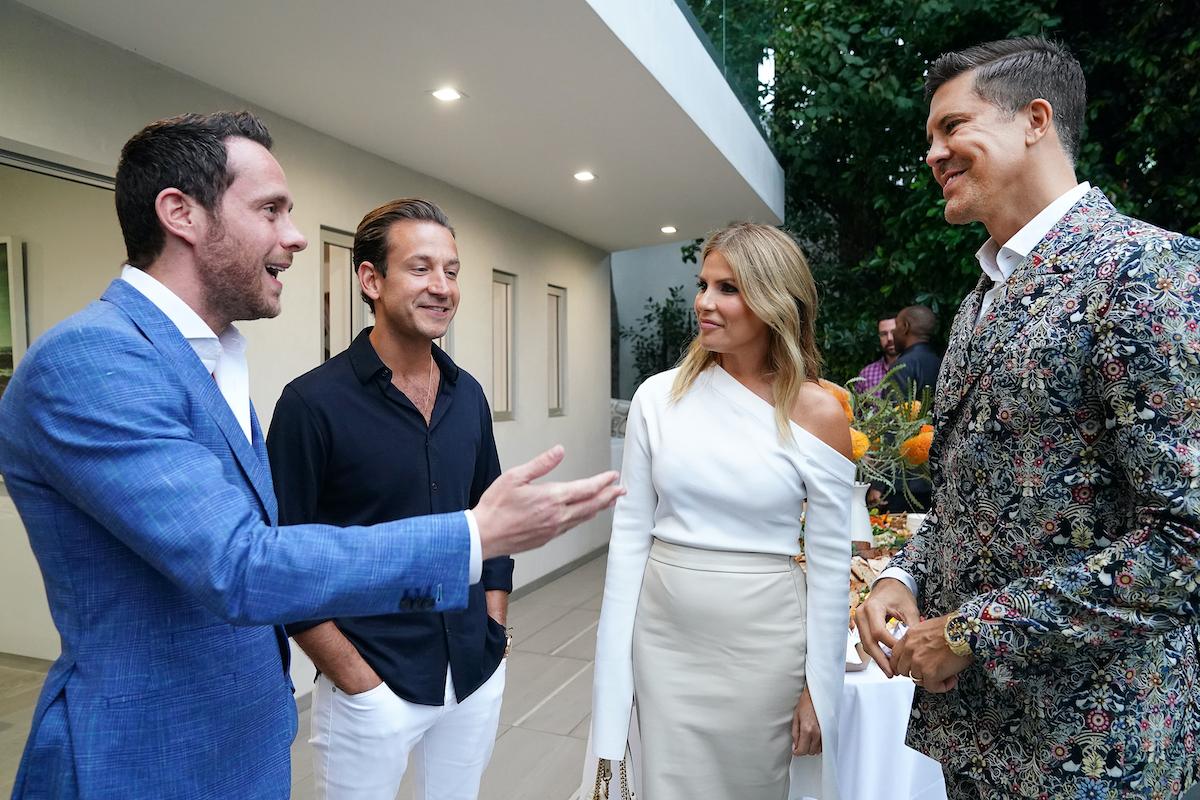 David Parnes and James Harris meet with Tracy Tutor and Fredrik Eklund on Million Dollar Listing Los Angeles