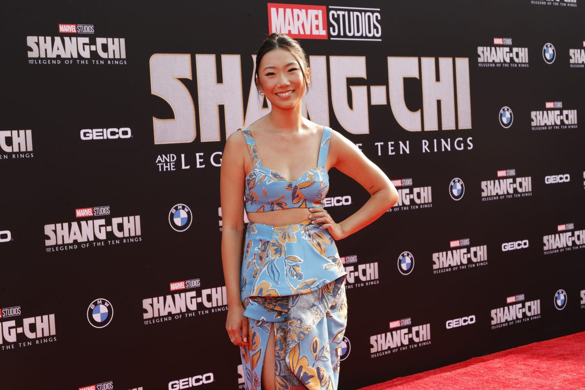 Olivia Liang, star of 'Kung Fu,' attends the premiere of 'Shang-Chi and the Legend of the Ten Rings.'